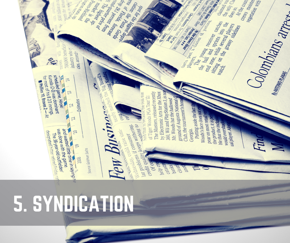 Content Promotion Syndication