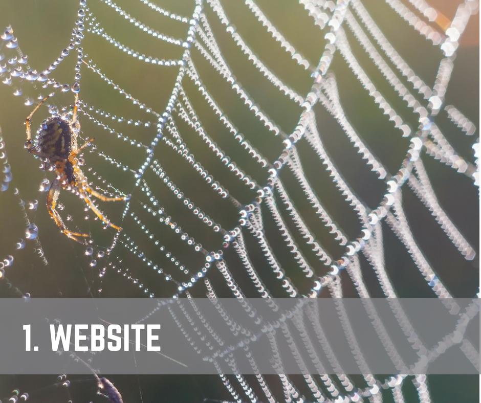 Content Promotion Website