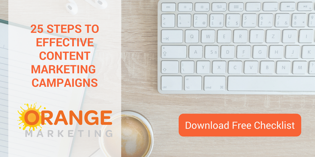 25 steps to effective marketing content campaigns