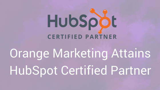 OrangeMarketing Attains HubSpot Agency Certified