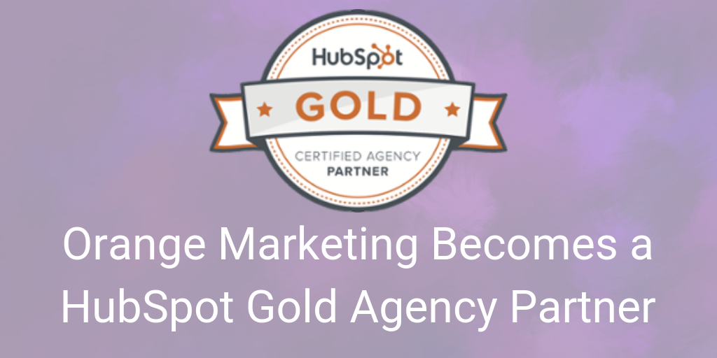 OrangeMarketing HubSpot Silver blog header