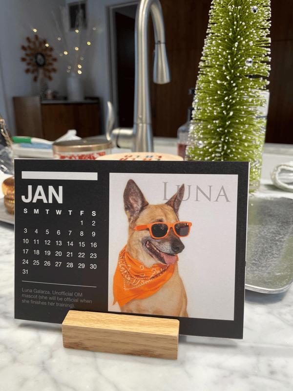 OM calendar